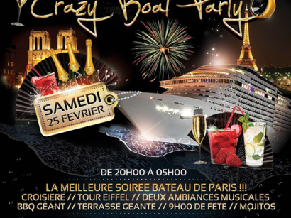 Crazy Boat Party au River's King