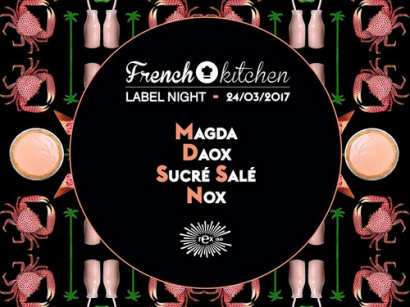 French Kitchen Label Night au Rex Club avec Nox