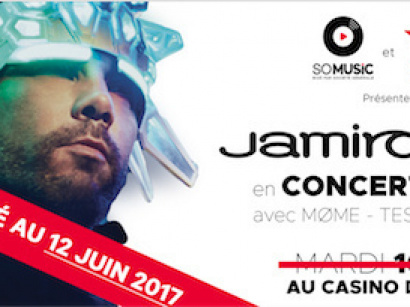 Jamiroquai en concert privé Virgin Radio au Casino de Paris