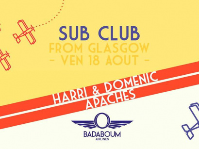 Badaboum Airlines 2017 : Glasgow's Sub Club