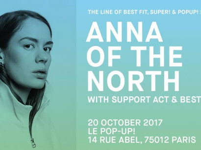 Anna of The North en concert au Pop-Up du Label
