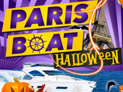 "Halloween Paris Boat ""Big Party"" 2017 au Nix Nox"