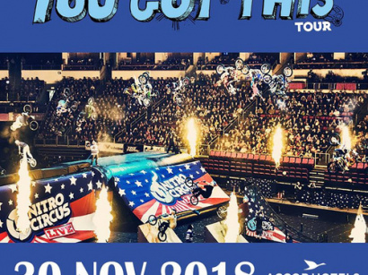 "Nitro Circus ""You Got This Tour"" 2018 à l'AccorHotels Arena Bercy de Paris en 2018"