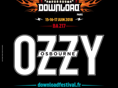Download Festival Paris 2018 : Ozzy Osbourne en tête d'affiche