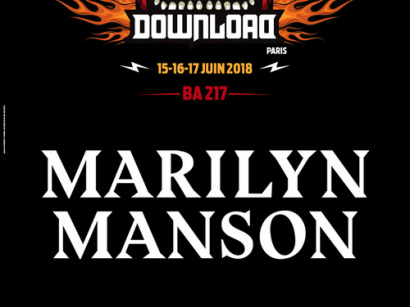Download Festival Paris 2018 : Marilyn Manson rejoint la programmaiton