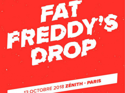 Fat Freddy's Drop en concert au Zénith de Paris en octobre 2017