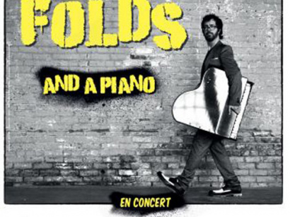 Ben Folds and a piano en concert à La Cigale de Paris en mai 2018