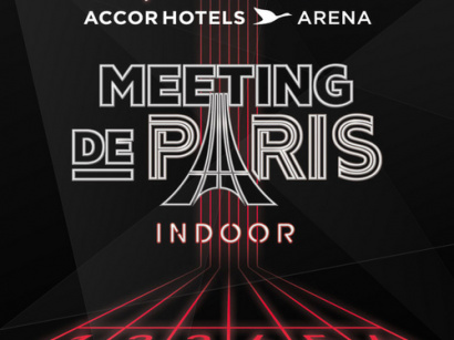 Le Meeting de Paris Indoor de retour à l'AccorHotels Arena Bercy de Paris en 2018