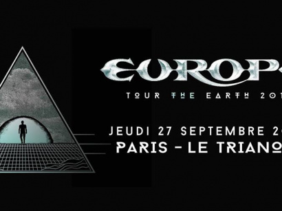 Europe en concert au Trianon de Paris en septembre 2018