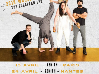 Walk of The Earth en concert au Zénith de Paris en avril 2018