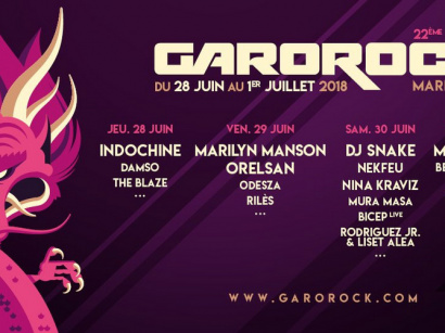 Garorock 2018 à Marmande : dates, programmation et réservations