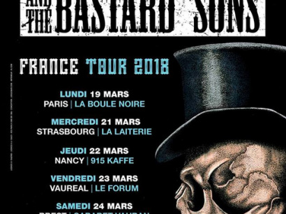 Phil Campbell And The Bastard Sons en concert à La Boule Noire de Paris en mars 2018