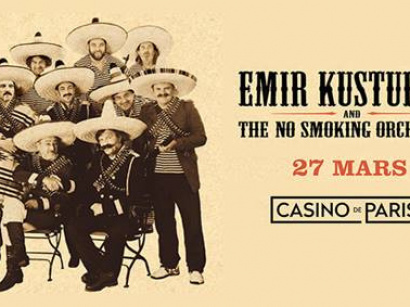Emir Kusturica & The No Smoking Orchestra en concert au Casino de Paris en mars 2018