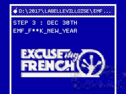 Excuse My French à La Bellevilloise : F**k New Year