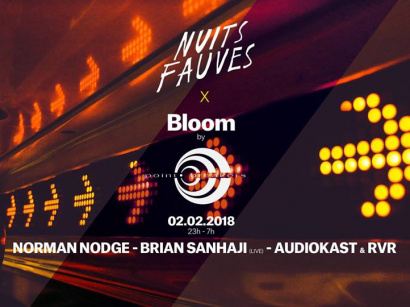 Bloom #7 au Club Nuits Fauves avec Norman Nodge