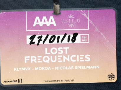AAA x Wahou avec Lost Frequencies