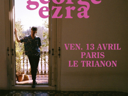George Ezra en concert au Trianon de Paris en avril 2018