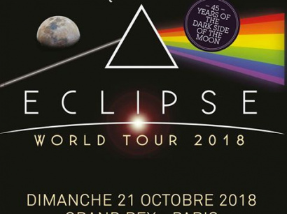 Brit Floyd - The Pink Floyd Tribute Show au Grand Rex de Paris en octobre 2018