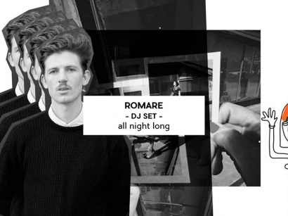 Romare Dj set all night long au Badaboum