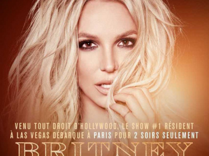 "Britney Spears et son ""Britney: Piece of Me"" en concert à l'AccorHotels Arena de Paris en août 2018"