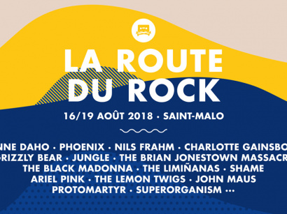 La Route du Rock 2018 à Saint Malo : dates, programmation et réservations