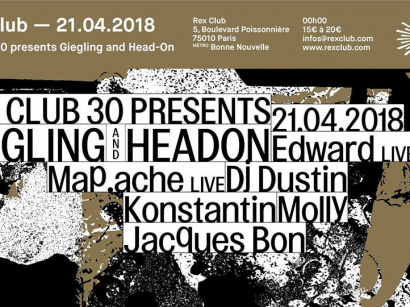 Headon x Giegling x Rex Club 30 Years