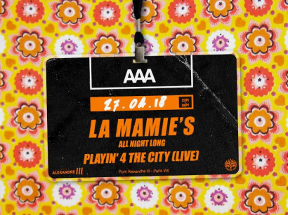 La Mamie's All Night Long au AAA Paris