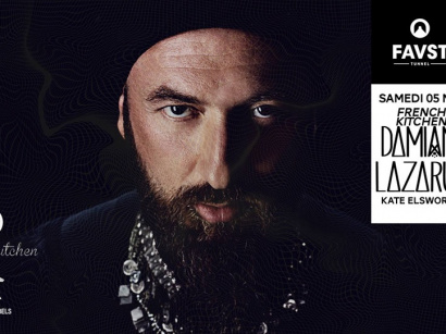 French Kitchen au Faust avec Damian Lazarus