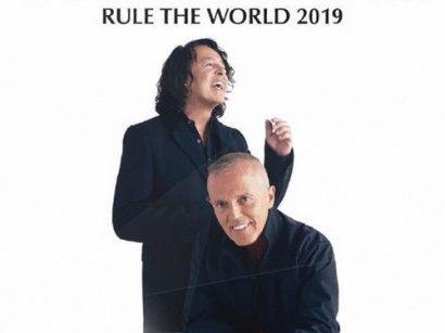 Tears For Fears en concert à l'AccorHotels Arena Bercy de Paris en février 2018