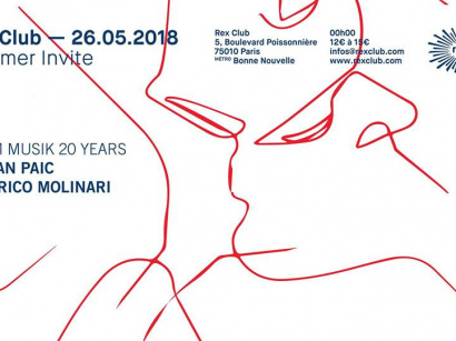 Traumer Invite Raum Musik 20 Years au Rex Club