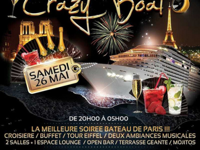 Crazy Boat Party de retour au River's King
