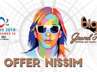Gay Games Opening Party 2018 à Paris : Offer Nissim au Grand Palais