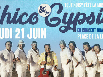 Fête de la Musique 2018 à Noisy-le-Grand avec Chico & the Gypsies