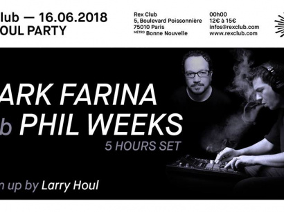 Robsoul Night au Rex Club avec Mark Farina b2b Phil Weeks