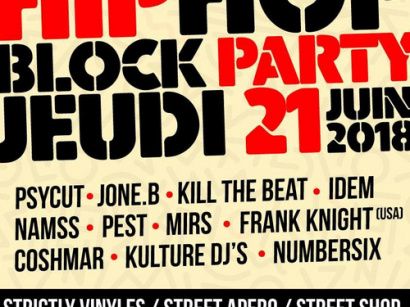 Fête de la Musique 2018 à Paris : Hip Hop Block Party Impasse St Sébastien