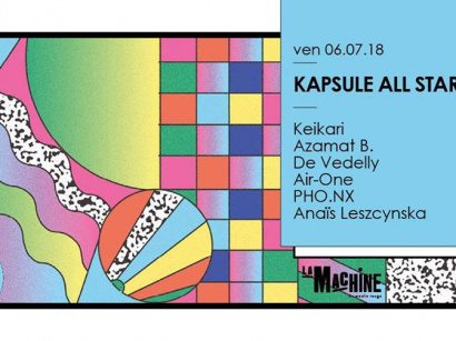 Kapsule : All Stars à La Machine