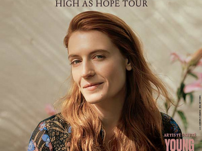 Florence and The Machine en concert à l'AccorHotels Arena Bercy de Paris en mars 2019