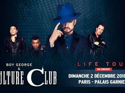 Boy George & Culture Club à l'Opéra Garnier de Paris