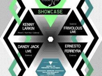 Cadenza au Showcase avec Kenny Larkin et Dandy Jack