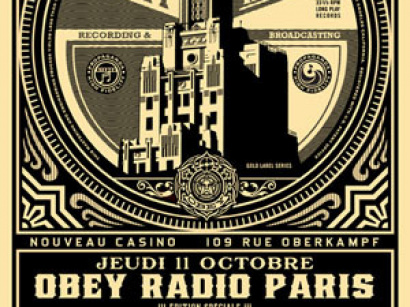 Obey Radio Party au Nouveau Casino