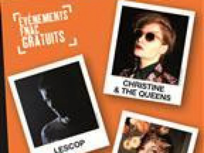 Christine & The Queens, Mina Tindle et Lescop en showcase à la Fnac Montparnasse