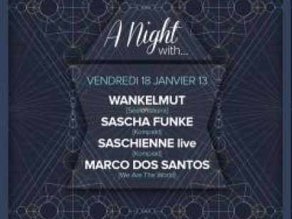 A night with… Wankelmut, Sascha Funke au Showcase