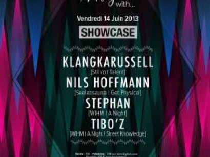 A Night With… Klangkarussell au Showcase
