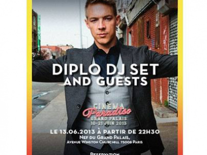 Cinema Paradiso Superclub : Diplo and friends au Grand Palais