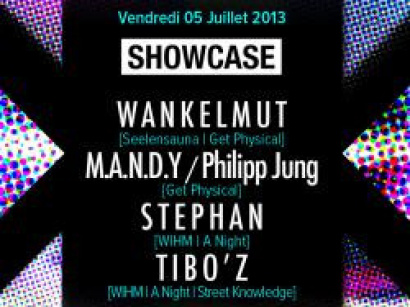 A Night With Wankelmut et Philipp Jung au Showcase