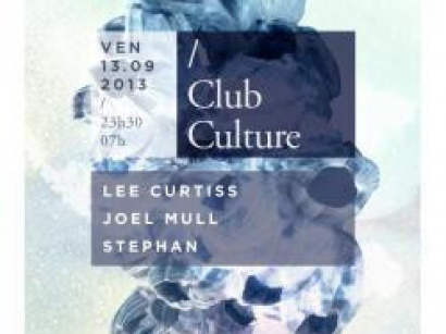 Club Culture au Showcase avec Lee Curtiss