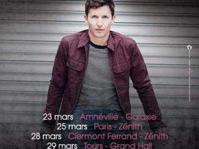 James Blunt au Zénith de Paris en mars 2014