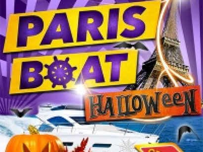 Paris Boat Party spéciale Halloween 2013 au Concorde Atlantique