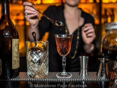 Le Moonshiner : le bar à cocktails caché