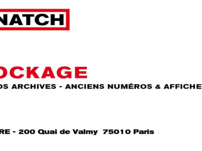 Déstockage gratuit de Snatch Magazine au Point Éphémère